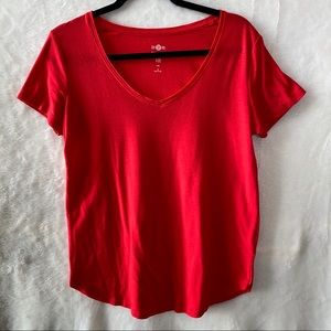So Perfect Tee Relaxed Vneck T-Shirt